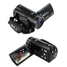 Video Camcorder, Lary intel Portable HD ORDRO HDV-V7 1080p IR Night Vision Max. 24.0 MP Digital Camera Camcorders DV 16× Digital Zoom 3.0 TFT LCD Rotation Touch Screen Video Recorder, Face Detection