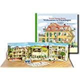 Willkommen in Wimmlingen!: Das Wimmelbuch zum Aufstellen, mit 34 Spielfiguren, 3 Szenen