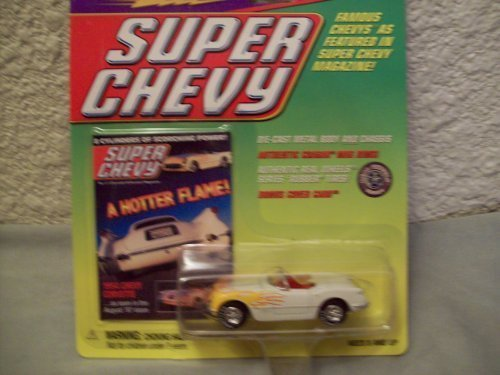 Johnny Lightning Super Chevy 1954 Chevy Corvette by Johnny Lightning Lightning Johnny 1e10a2