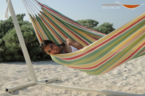 Amazon Collection Cotton Fantasia Color Hammock. Brazilian hammocks