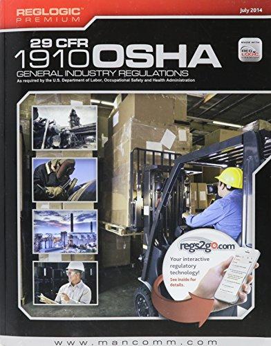 Osha General Industry Regulations Book 29 Cfr 1910