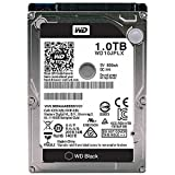WESTERN DIGITAL Black 1TB Performance Mobile Hard Disk Drive, 7200 RPM SATA 6 Gb/s 32MB Cache 9.5 MM 2.5 Inch, WD10JPLX