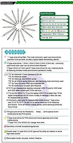 BEST-8749 維持修理 ラップトップ ipad 携帯電話 samsung ノキア iphone用 ダブルヘッド 精密ドライバーセット
