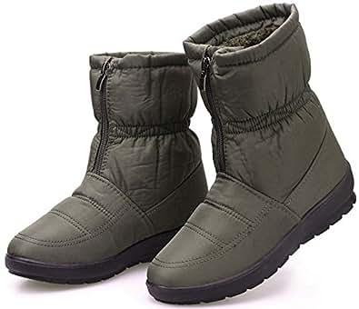 Amazon.com   labato Women's Waterproof Winter Snow Boot