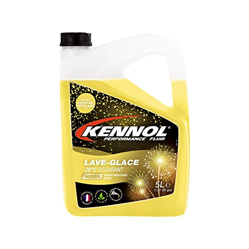 KENNOL 165223 Lave-Glace Hiver LG BIO-20° C DÉ GIVRANT Cocktail PETILLANT ACCOR LUBRIFIANTS S.A.S.