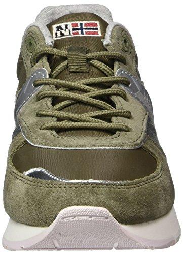 Kaki FOOTWEAR NAPAPIJRI Sneaker Donna Verde Rabina nHqcnWTU