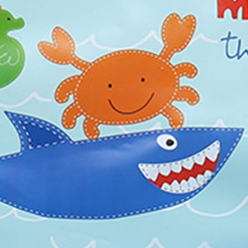 Requin Bleu Style Trifycore Imperm/éables Bavoirs durables Amovibles Bavoirs pour b/éb/é Inodore sans BPA Run-up Wipe Gar/çons Filles Unisexe Soins et Alimentation