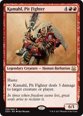 Kamahl, Pit Fighter - Duel Decks: Mind vs. Might
