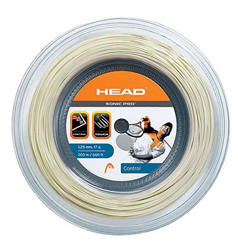 HEAD Sonic Pro 16 Tennis String 200M/660ft Reel White