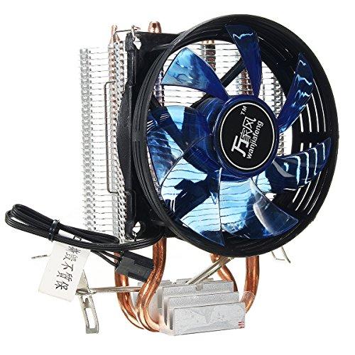 Utini Core LED CPU Quiet Fan Cooler Heatsink Cooling Equipment for Intel Socket LGA1156/1155/775 AMD AM3 Device