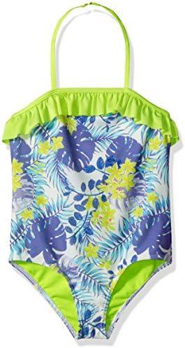 Nautica Girls Blue Size 7 UV Protection Small Swimsuit Swimwear