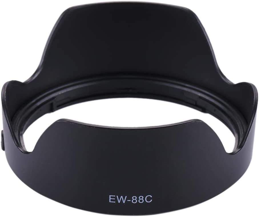 CAOMING EW-88C Lens Hood Shade for Canon Camera EF 24-70//2.8L II USM Lens Durable