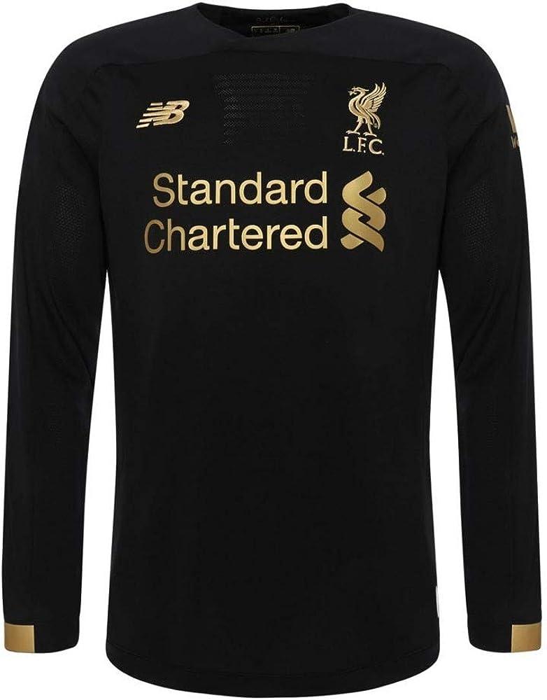 Amazon Com New Balance Men S Liverpool Fc Goalkeeper Long Sleeve Jersey Clothing