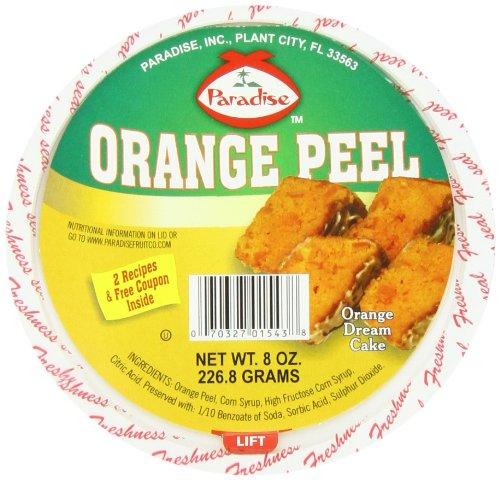 - Paradise Diced Peel, Orange, 8 Ounce