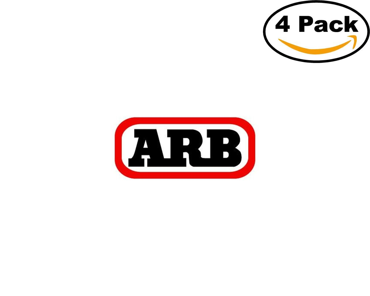 arb 4 Stickers 4x4 Inches Car Bumper Window Sticker Decal canvasbylam