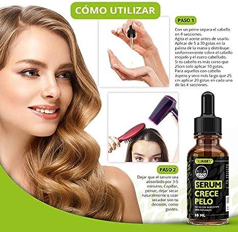 Serum Cabello - Serum Para El Pelo | Crece Pelo Rapido Mujer Y ...