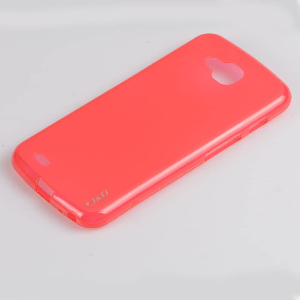 Ultra Lightwight Cover Compatible with LG X Venture//Calibur // LV9 Case Fuzzy Leopard Scratch-Proof Flexible Soft TPU Gel Skin