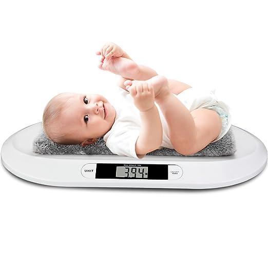 Babywaage Baby Digital Waage Kinderwaage LED Batterien Digitalwaage 20kg//10g NEU