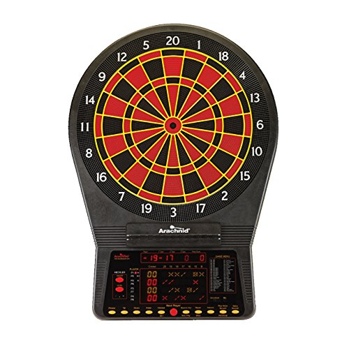 Arachnid Cricket Pro 900 Talking Electronic Dartboard with Soft Tip Darts, AC Adapter, and Operating Manual by Arachnid