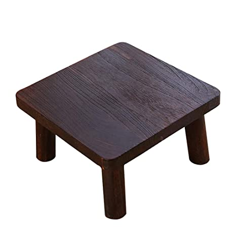 Amazoncom Coffee Tables Small Table Paulownia Wood Side