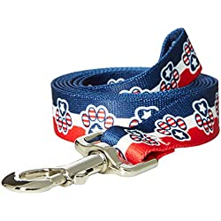Yellow Dog Design Lead, 1-Inch by 60-Inch, Patriotic Paws