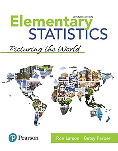 Amazon Com Elementary Statistics Picturing The World 7th