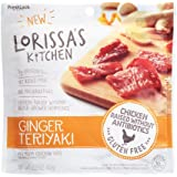 Lorissa's Kitchen Ginger Teriyaki Chicken Cuts, 2.25 oz (Pack of 2)