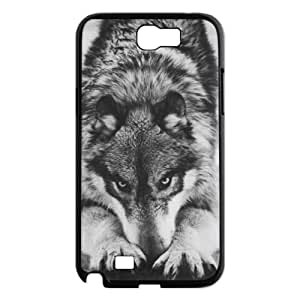 Wolf DIY Phone Case for Samsung Galaxy Note 2 N7100 LMc-23734 at LaiMc