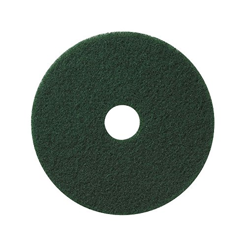 Nassco Pro Series Green Scrubbing Floor Pad, 16' - Case of 5 (Scrubbers 16')