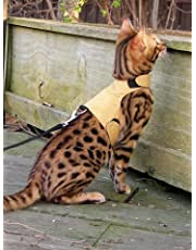Mynwood Cat Jacket/Harness Caramel Adult Cat - Escape Proof
