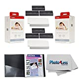 Canon KP-108IN Color Ink And Paper Set x2 + Itoya Art Profolio Original Storage/Display Book (4 x 6