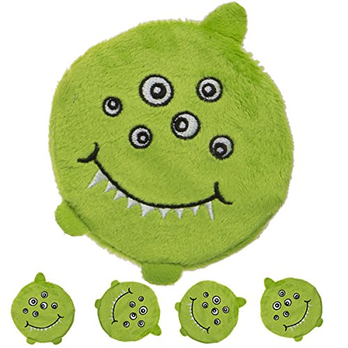 4-Pack-Mommys-Kisses-Hot-Cold-Gel-Pack-Green-Monster-Soothing-Comfort-Child-Injuries