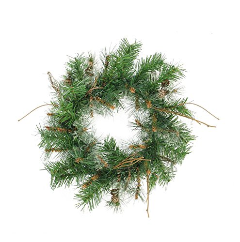"Northlight 16"" Country Mixed Pine Artificial Christmas Wr..."