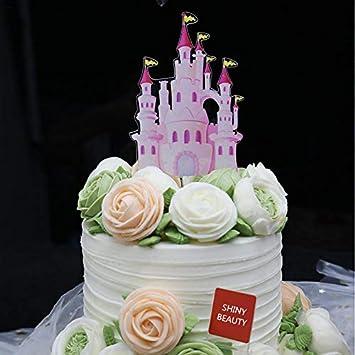 Remarkable Shinybeauty Happy Birthday Cake Topper Funny Baby Pink Purple Funny Birthday Cards Online Alyptdamsfinfo