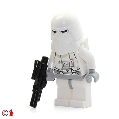 LEGO Star Wars Minifigure Snowtrooper (2014): Toys & Games