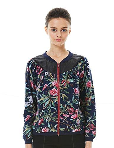 Womens Silk Clothing Coat Jacket - 2