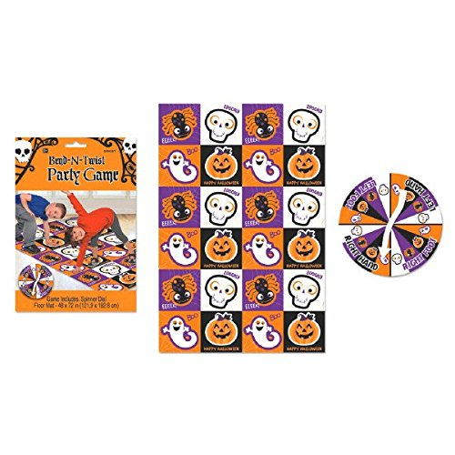 [Bend and Twist Halloween Trick or Treat Party Game Activity, Plastic, 72