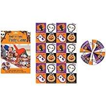 """Bend and Twist Halloween Trick or Treat Party Game Activity, Plastic, 72"""" x 48"""", Pack of 2."""