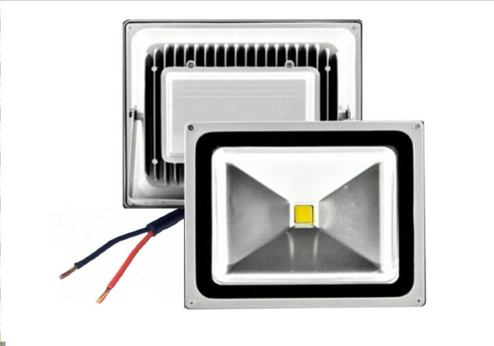 Trendmart® Dc 12v 50w Led Flood Light Warm White Outdoor Landscape Lamp