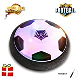 Kids Toy Soccer, OSEETAR Hover Ball with Foam Bumper and LED Lights,Children Training Football for Indoor or Outdoor with Parents Game