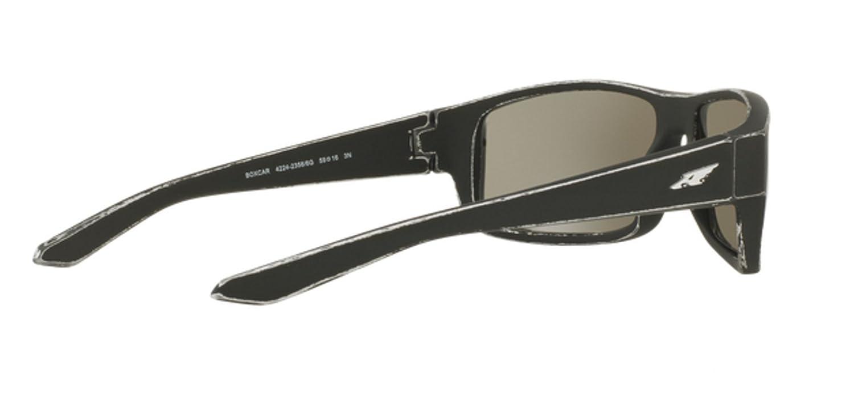 Arnette AN4224 23566G BOXCAR MATTE TUMBLED SILVER Sunglasses