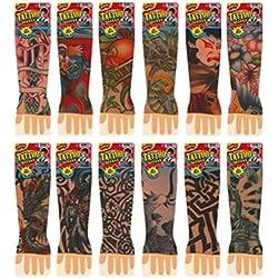 Ja-Ru Totally Tattoo Sleeve Party Favor Bundle Pack