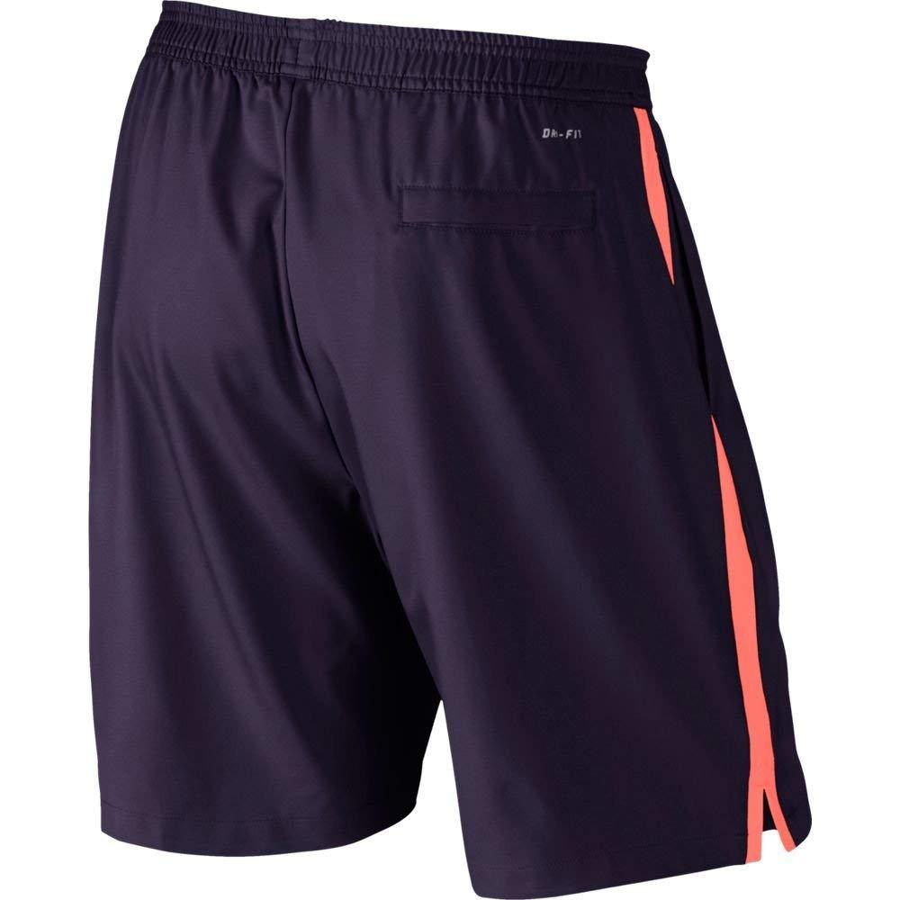 Nike Court 9'' Shorts (Purple Dynasty/Bright Mango/Bright Mango, X-Small) by Nike (Image #2)