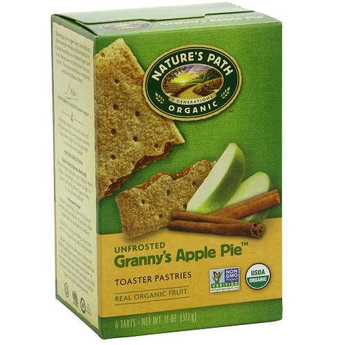 Natures Path Unfrosted Toaster Pastry, Apple Cinnamon, 11 oz