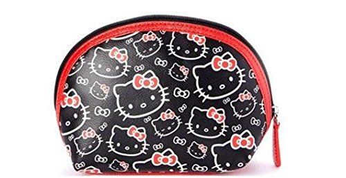 Loungefly Hello Kitty Red and Black Cosmetic Bag