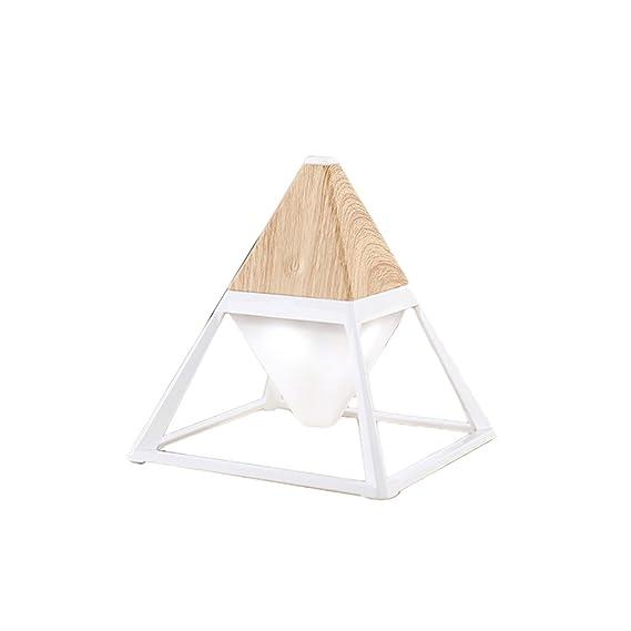 Amazon.com: Lámpara de mesa pequeña con diseño de cono de 4 ...
