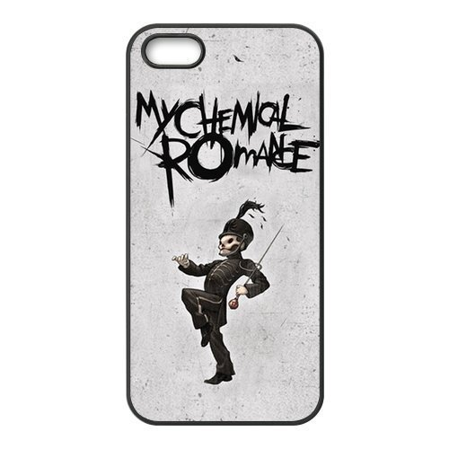 FEEL.Q- Unique Custom TPU Rubber iPhone 5/5S Case Cover - My Chemical Romance