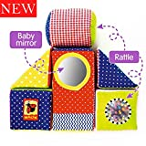 MACIK baby Soft Blocks for kids - baby Stacking toys baby Development toys - fine motor skills toys...