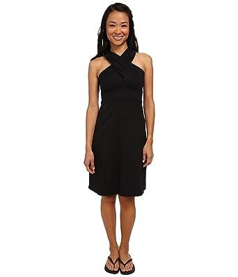 FIG Clothing Womens Bai Dress Black Dress LG