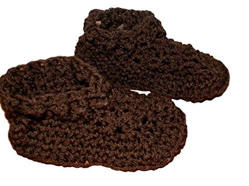 crochet house shoes - 5